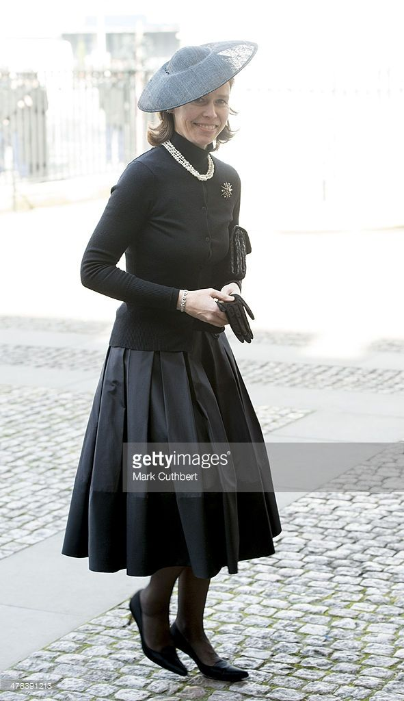 Lady Sarah Chatto attends a memorial service for Sir David Frost at Westminster Abbey on March 13, 2014 in London, England.