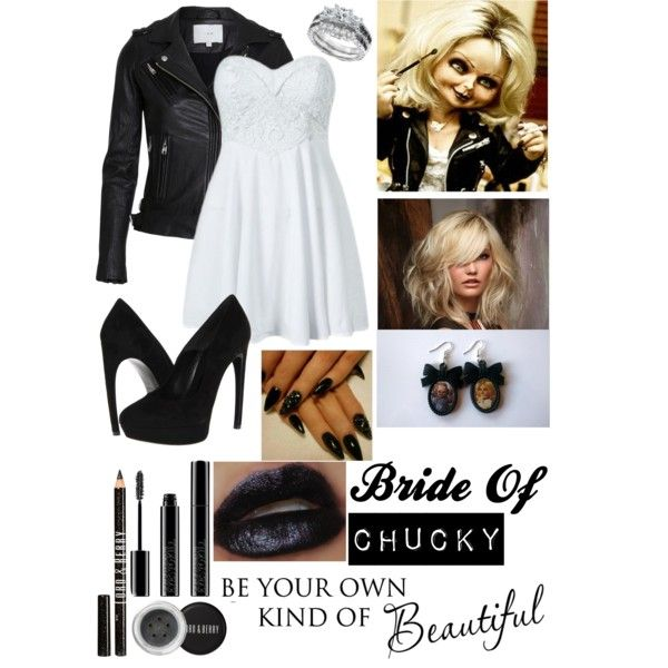 """Bride Of Chucky"" by kitten-in-suspenders on Polyvore"