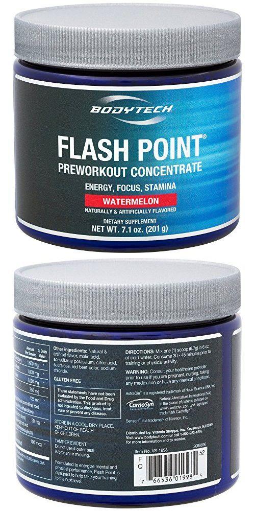 BodyTech Flash Point Pre-Workout - Watermelon - 201 Grams Powder
