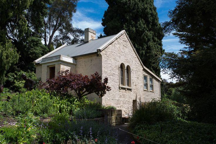 The former caretaker's cottage in Hobart's Royal Botanical Gardens