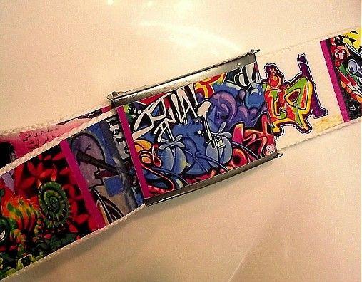 homer.art / Trendy opasek Graffiti