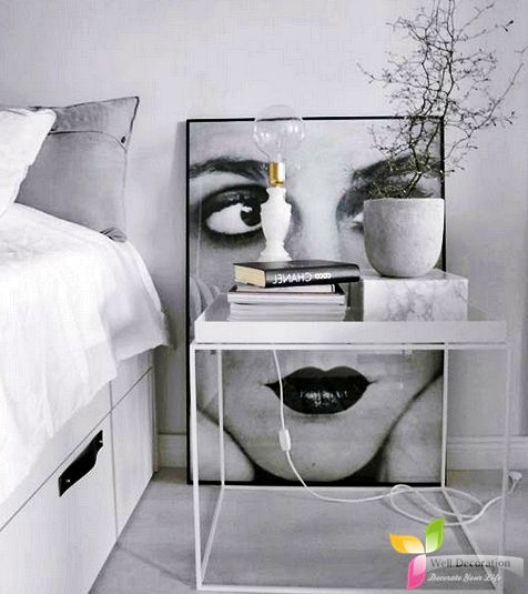 380 best bedroom decorations images on pinterest attic for Well decorated bedroom