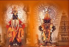 Vithoba also known as Vitthala (Marathi: विठ्ठल, and Panduranga (Marathi: पांडुरंग, Kannada: ಪಾಂಡುರಂಗ, Telugu: పాండురంగ; all Paṇḍuraṇga), is a Hindu god, worshipped in the Indian states of Maharashtra, Karnataka, Goa, Andhra Pradesh and Tamil Nadu. He is generally considered a manifestation of the god Vishnu or his avatar (incarnation) Krishna. Vithoba is often depicted as a dark young boy, standing arms-akimbo on a brick, sometimes accompanied by his main consort Rakhumai.