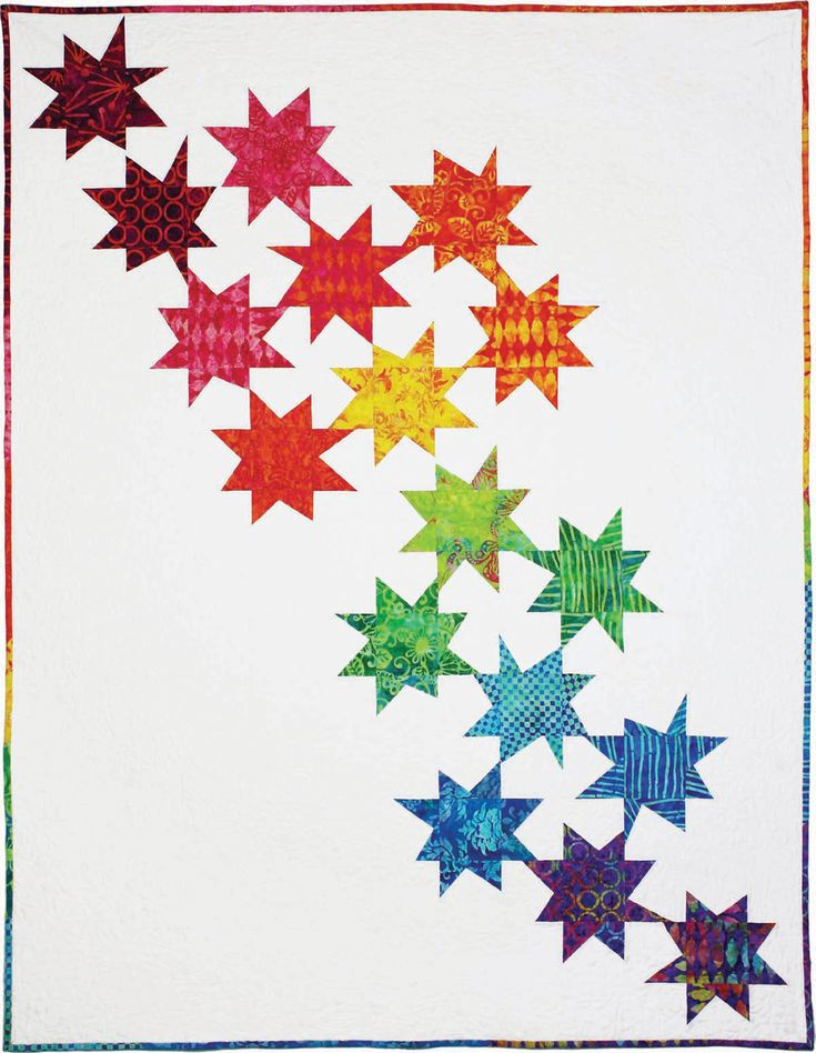 Michael Miller Fabrics Stars - FREE QUILT PATTERNS - GET INSPIRED