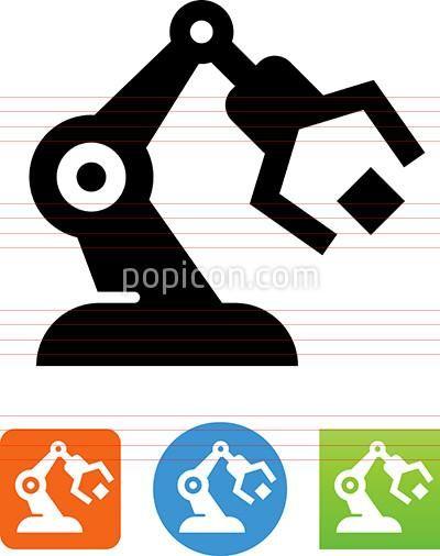 Robotics Automation Icon
