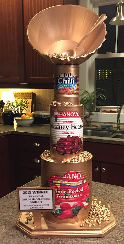 2015 Golden Chili Cook-Off Trophy by Lisa Lowery!