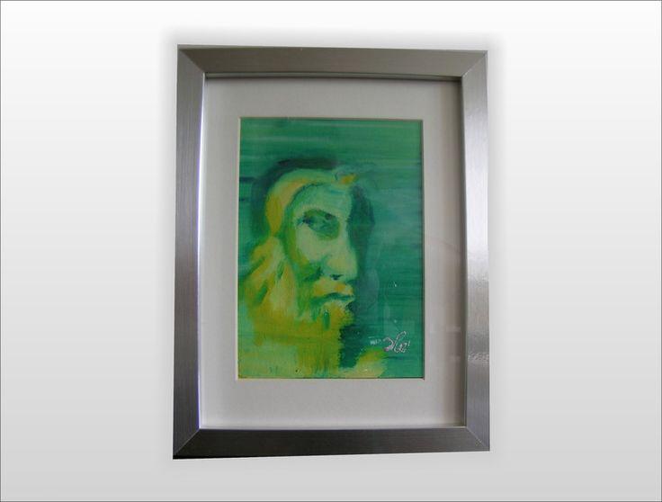 Mędrzec-obraz na szczęscie  w W.pelni Design na DaWanda.com
