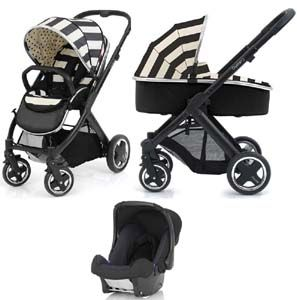 BabyStyle Oyster 2 Vogue Pram Travel System Humbug Black Chassis Brilliant http://babiesprams.net