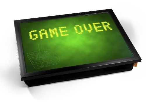 Game Over Green Game Gaming Geek Nerd Cushion Lap Tray by... https://www.amazon.ca/dp/B01NCARYSQ/ref=cm_sw_r_pi_dp_x_q7O0ybBJQ8SJV
