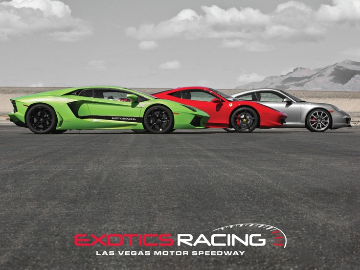 #5 Exotics Racing Trio  desktop wallpaper size 1024x768