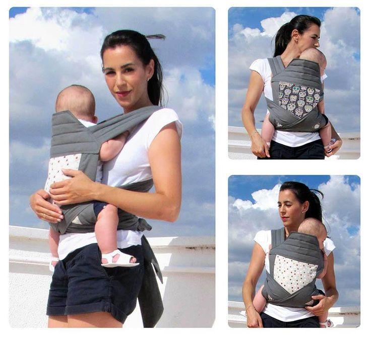 Consigue aquí el patrón para elaborar un cómodo mei tai y mochila porta bebés para llevar a tu bebé.