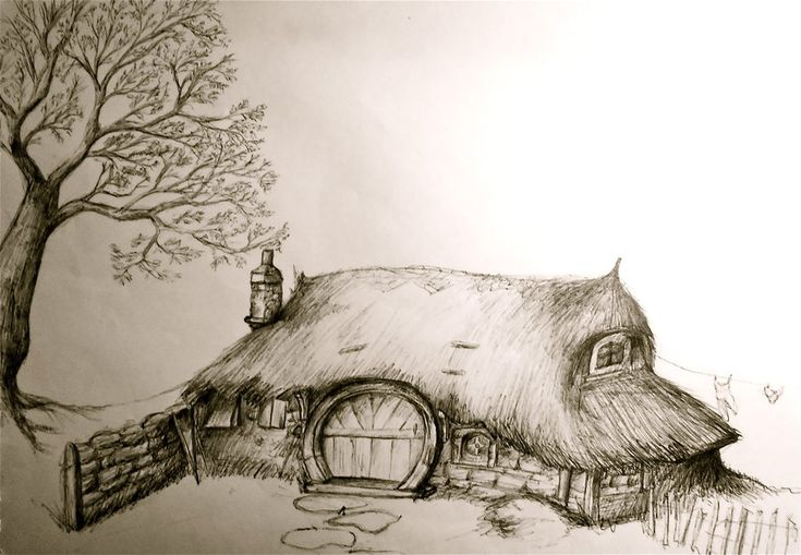 28 best images about middle earth meets snow white on for Hobbit house drawings