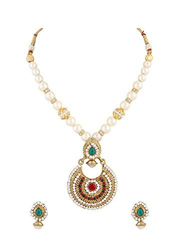 Red & Green Stone White Pearls Indian Bollywood Gold Plat... https://www.amazon.com/dp/B06XQCS4DM/ref=cm_sw_r_pi_dp_x_zpYazbH07Y5GA