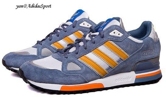 detailed look 6933c b6e28 ... czech zapatillas running adidas originals zx 750 para hombre gris azul  naranja blanco online 4e216 4d273