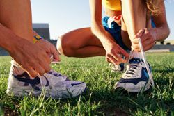 Get-started schedule for beginning runners...work up to 30 minutes of running in 8 weeks with a run/walk schedule 3 days/week. I'm trying this, I miss running.