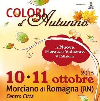 Colori d' Autunno a Morciano di Romagna http://www.sagreromagnole.it/colori-d-autunno-a-morciano-romagna-2015/
