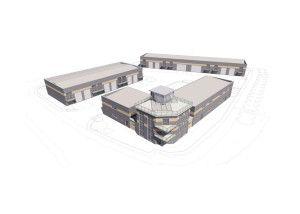 BUILDING BEGINS AT MANSTON BUSINESS PARK