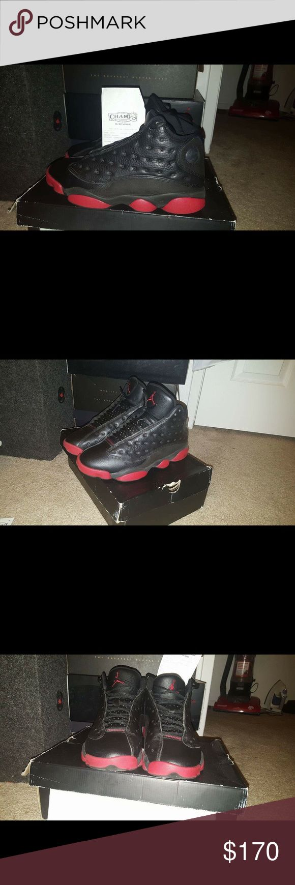 Retros dirty bred 13s Dirty bred 13s size 8!!! Condition 9/10 170.00 Obo Jordan Shoes Sneakers