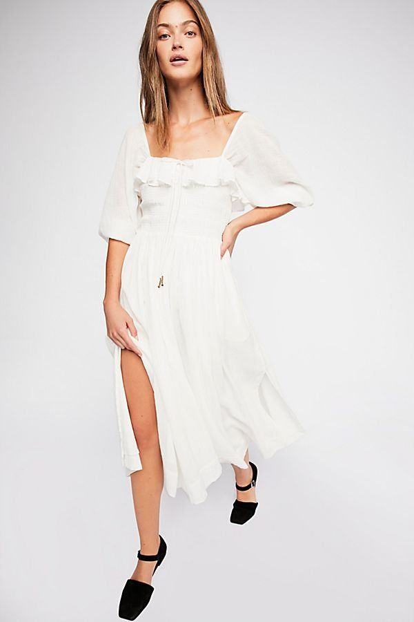 0f1932b7880f Oasis Midi Dress | FP Follows Patricia Manfield | Dresses, White ...