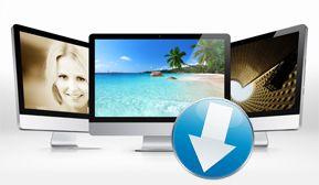 Wallpaper: Gratis Bildschirmhintergründe für Ihren PC©medogan, Fooooto, Iakov Kalinin - Fotolia.com, pixeden.com, COMPUTER BILD