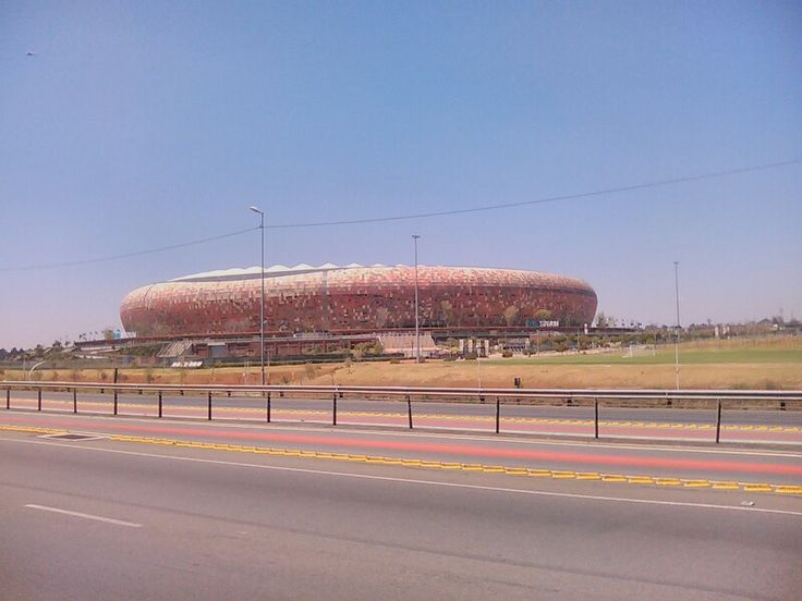 Soccer City, 2010 World Cup final held here