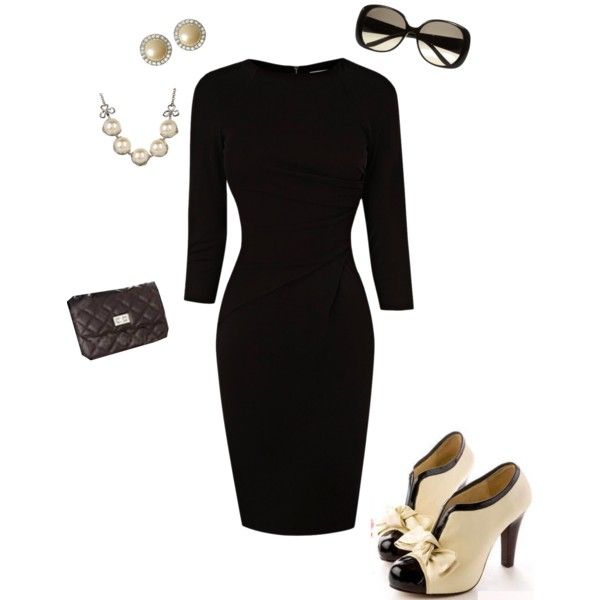 """Simple. Classic. Flawless."" by alifarrell on Polyvore"