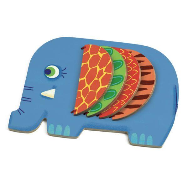 Djeco Olifant boek hout: Moussa is een lief houten olifant boekje van 20cm voor kinderen vanaf 10 maanden oud. from www.kidsdinge.com http://instagram.com/kidsdinge https://www.facebook.com/kidsdinge/ #kidsdinge #onlinestore #Kidsroom #babyroom #Toys #Speelgoed #worldwideshipping