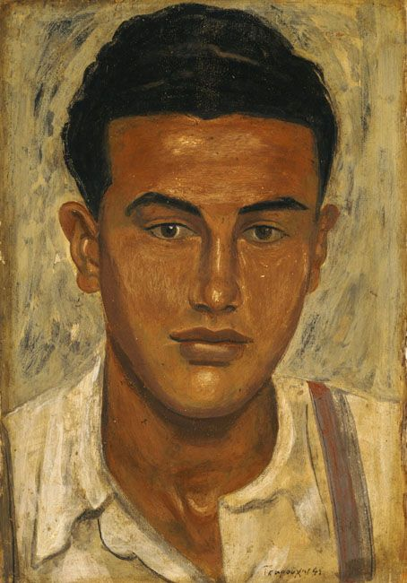 Head of a Youth Yiannis Tsaroychis 1941