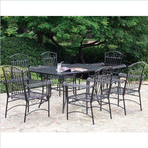 38 best images about Wrought Iron Patio Set on Pinterest
