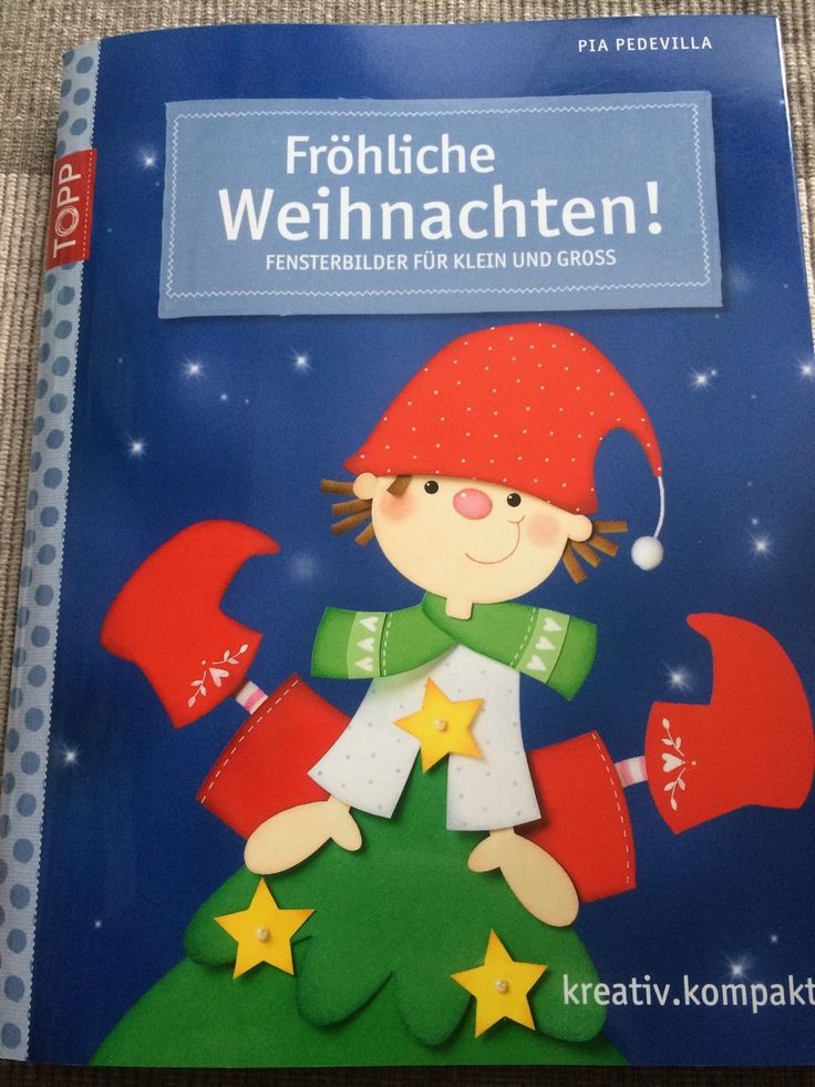 Fröhliche Weihnachten,Fensterbilder,Bastelbuch mit Bastelvorlage TOPP de.picclick.com