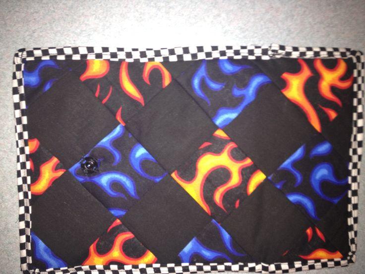 flames wallet (outside)