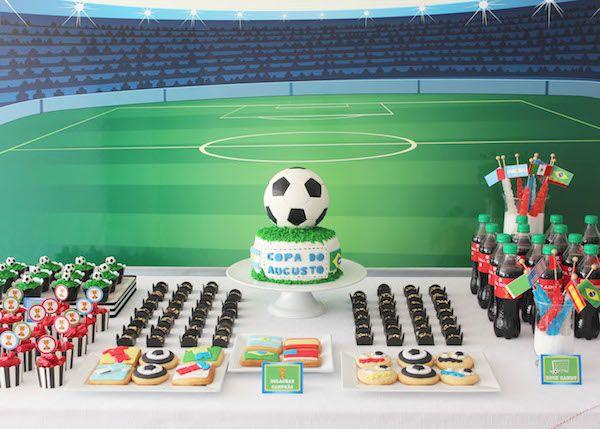 Fiestas infantiles de fútbol