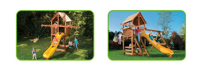 Miller's - Playsets - Westchester, NY's best wooden toys, trampolines, redwood swing sets, redwood play sets, children's clothing, children's shoes, strollers, car seats, bicycle sales and bike repair, bike shop