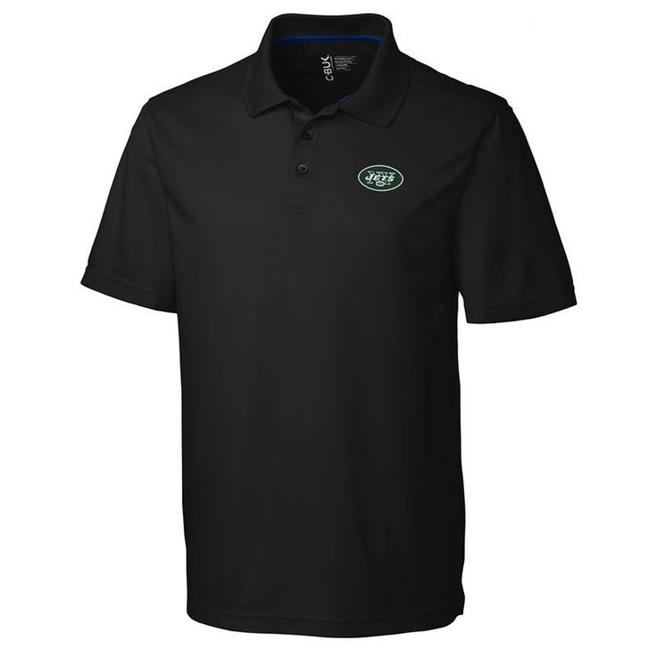 New York Jets CBUK by Cutter & Buck Fairwood Polo - Black https://www.fanprint.com/licenses/new-york-jets?ref=5750