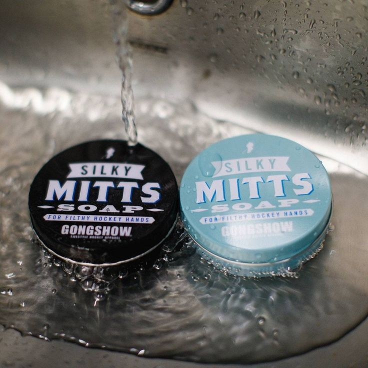 Whether you have a big game and score the G-Dub or have the worst game of your career, it's always there after the game waiting for you. Hockey Hands. Get rid of that terrible smell with the new #GONGSHOW Silky Mitts soap - made specifically for those filthy hockey hands!