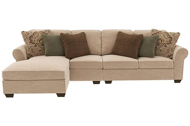 Wilcot 3-Piece Sectional with Chaise | Ashley Furniture HomeStore