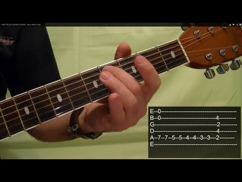 ▶ EASY BLUES GUITAR LESSON - Blues Riffs to Play - YouTube