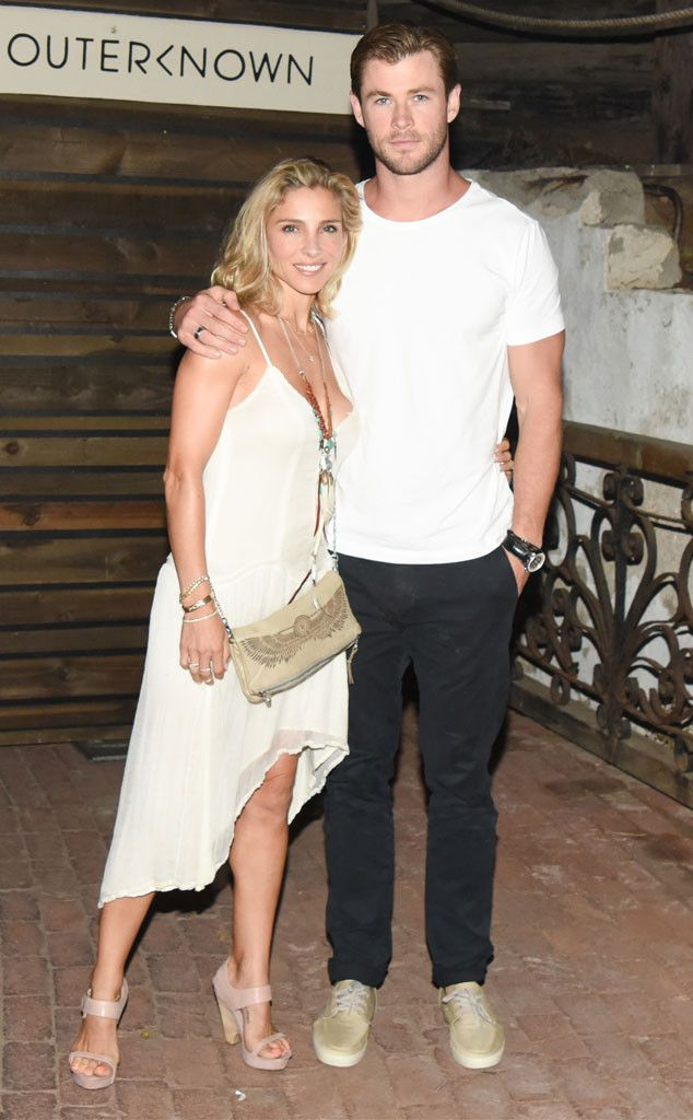 Elsa Pataky & Chris Hemsworth from The Big Picture: Today's Hot Pics  The cute couple enjoy date night in Malibu.