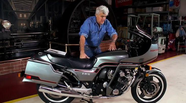 1981 honda cbx jay leno s garage video motorcycles pinterest honda bikes and videos. Black Bedroom Furniture Sets. Home Design Ideas
