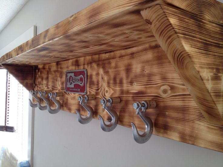 And Some Chain Hooks Ideas Pinterest Coats Rough Cut