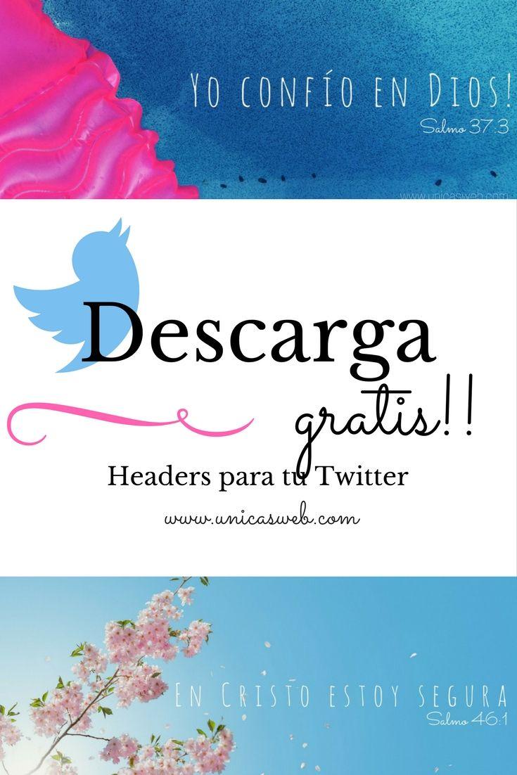Descarga headers para tu twitter totalmente gratis!!!