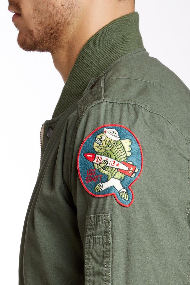 MA-1 Flight Jacket by Schott NYC on @HauteLook