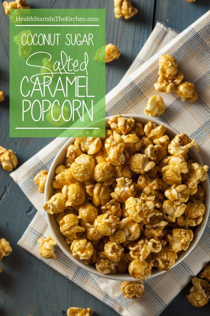 Paleo Coconut & Caramel Popcorn