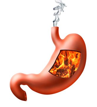 THE DANGERS OF ACID-REFLUX MEDICATIONS - Believe it or not, acid-reflux medications do major harm to your body.  Shocking, right? It's true.  All of those medications (Prevacid, Nexium, Zantac, Prilosec, omeprazole, even Tums) reduce stomach acid, which is what they are designed to do. The problem is that acid reflux is actually caused by TOO LITTLE stomach acid, not too much.  Counter-intuitive, right?  (MARIA RICKERT HONG NUTRITIONAL HEALING, www.MariaRickertHong.com)