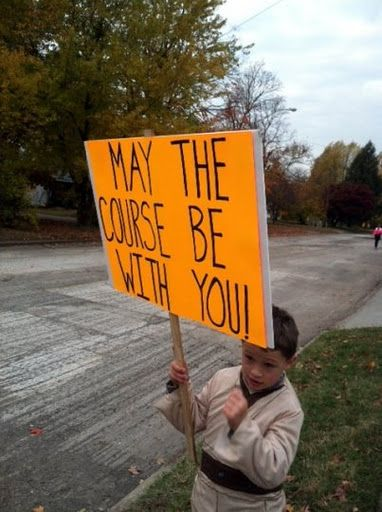 15 Funny Signs to Keep You Inspired and Laughing at Your Next Race