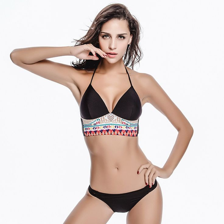 $22.50 (Buy here: https://alitems.com/g/1e8d114494ebda23ff8b16525dc3e8/?i=5&ulp=https%3A%2F%2Fwww.aliexpress.com%2Fitem%2FBikini-Sets-Sexy-Womens-Push-Up-Top-Swimsuit-Bathing-Suit-Swimwear-2016-Nonstop-Summer-New-Bikini%2F32647142010.html ) 2016 Bikini Sets Plus size Sexy Trikinis Womens Triathlon Push Up Bra Monokini Retro Swimsuit Bathing Suit Crochet Swimwear for just $22.50