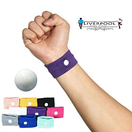 Pair of acupressure Anti-Nausea Motion Sickness Relief Wristbands. Great for controlling nausea due to morning sickness, motion sickness or chemotherapy. 6 colors to choose from. Nausea relief bracelet (Blue) Liverpool Private Reserve http://www.amazon.com/dp/B01351B8WO/ref=cm_sw_r_pi_dp_hH45vb0A76E2E