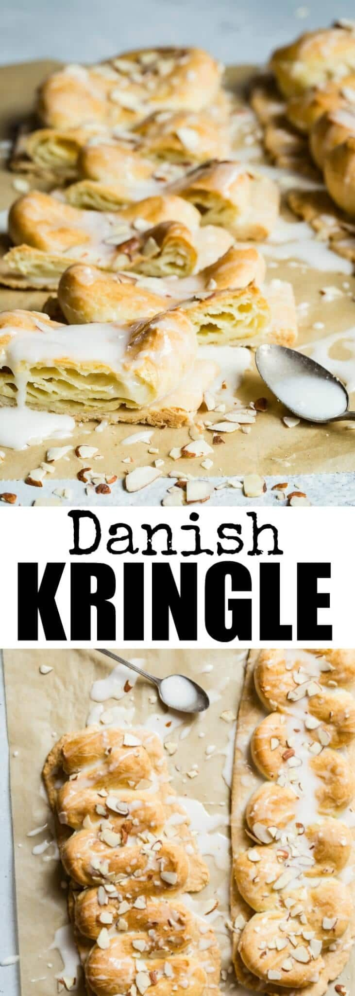 Meet Wisconsin's official state pastry! This Danish Kringle Recipe tastes EXACTLY like the real thing, but it has been adapted so you can make it at home. via @culinaryhill