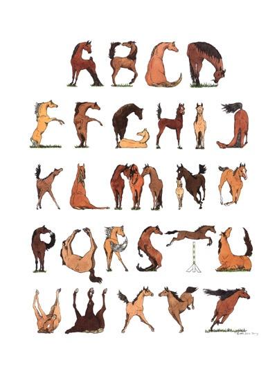 Horse Poster- Alecia Underhill