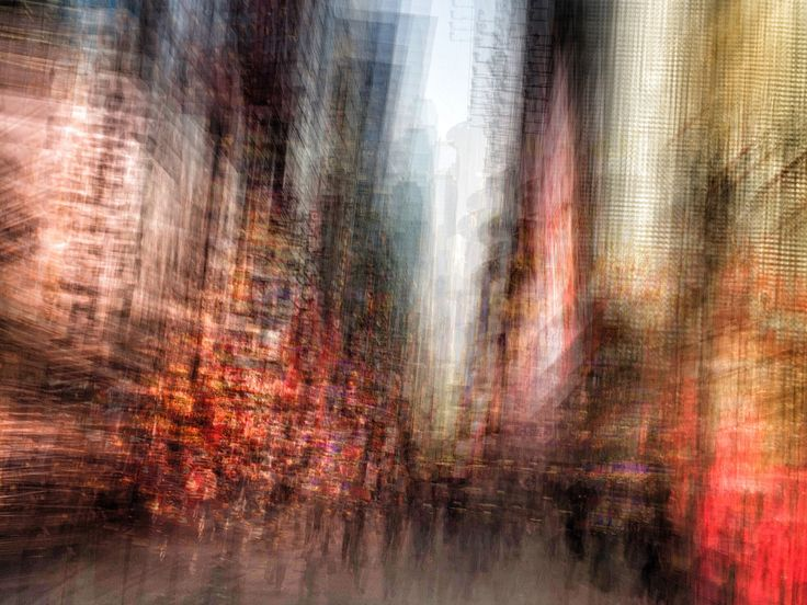 Taking in the Streets of NYC Through an iPhone Kaleidoscope